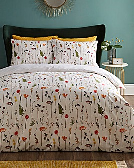June Floral Duvet Cover Set