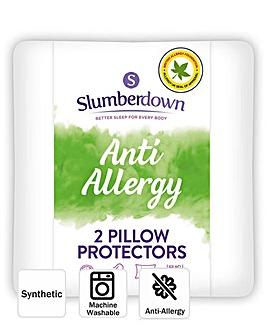 Slumberdown Anti-Allergy Pillow Protectors