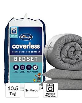 Silentnight Coverless Duvet and Pillow Set