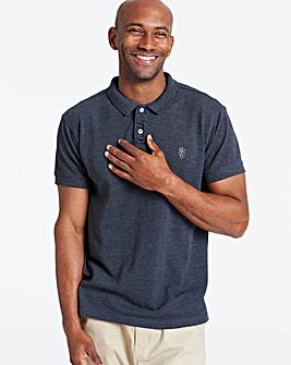 Charcoal Short Sleeve Embroid Polo