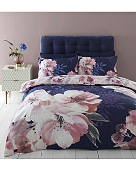 Catherine Lansfield Dramatic Floral Duvet Cover Set