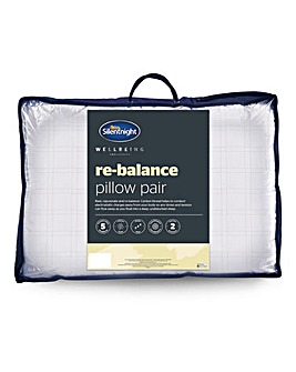 Silentnight Re-balance Pillow Pair