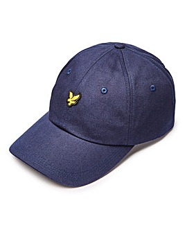 Lyle & Scott Navy Canvas Baseball Cap