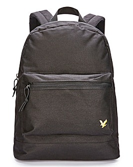 Lyle & Scott Black Backpack