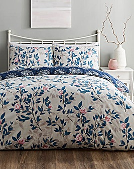 Vantona Magnolia 180 Thread Count Duvet Cover Set