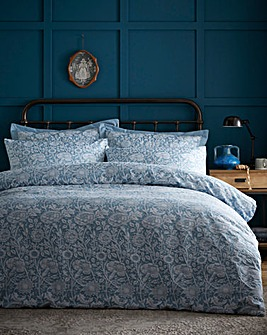 Cornflower Jacquard Duvet Cover Set
