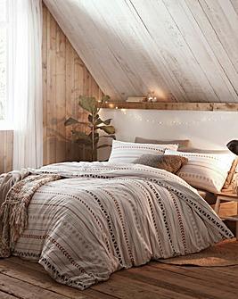 Cabin Stripe Duvet Cover Set
