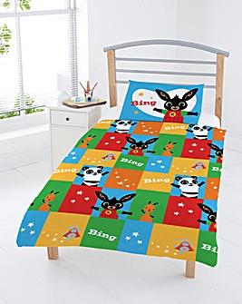 Bing Bunny Patchwork Junior Duvet Set