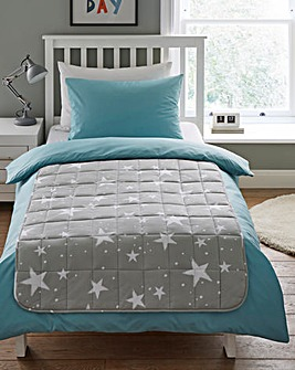 Star Print Weighted Blanket - 3kg