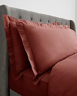 200 TC Plain Dye Oxford Pillowcase