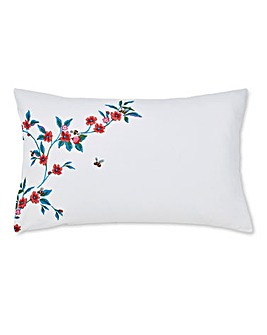 Cath Kidston Greenwich Flowers Brushed Cotton Pillowcases