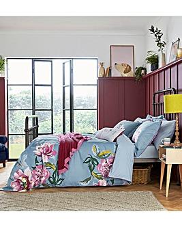 Joules Melrose Floral 180 Thread Count Cotton Duvet Cover Set