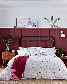 Joules Country Estate 180 Thread Count Cotton Duvet Cover Set