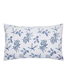 Joules Crayon Floral 180 Thread Count Cotton Pillowcases