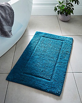 Supersoft Snuggle Bath Mat Teal