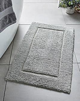 Supersoft Snuggle Bath Mat Slate