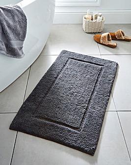 Supersoft Snuggle Bath Mat Gunmetal