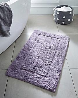 Supersoft Snuggle Bath Mat Orchid