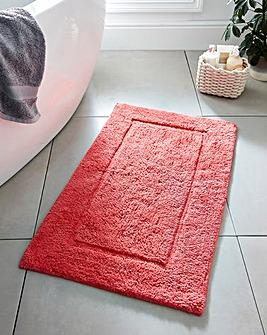 Supersoft Snuggle Bath Mat Coral