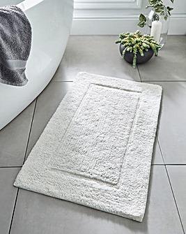 Supersoft Snuggle Bath Mat White