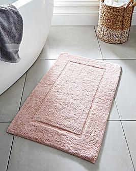 Supersoft Snuggle Bath Mat Blush