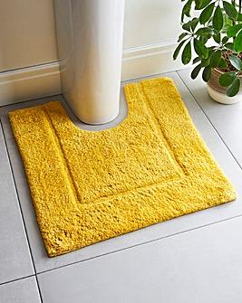 Supersoft Snuggle Pedestal Mat Mustard