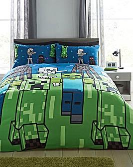 Minecraft Creeps Double Duvet Set