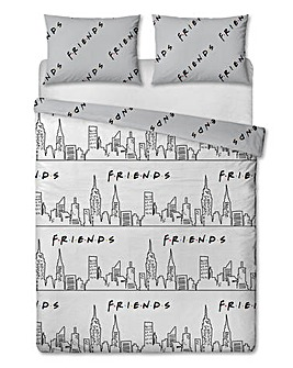 Friends Scene Double Duvet Set