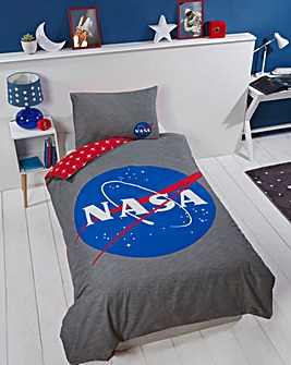 ISA Nasa Logo Duvet Set
