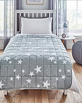 Star Print 3kg Weighted Blanket