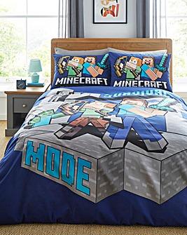 Minecraft Survive Duvet Cover Set