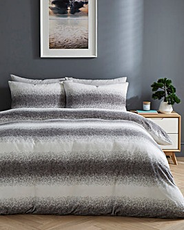 Ombre Animal Grey Duvet Cover Set