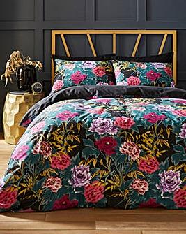 Solange Floral Duvet Set