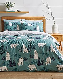 Winter Bears Duvet Cover Set