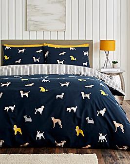 Devon Dogs Duvet Cover Set
