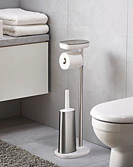 Joseph Joseph EasyStore ButlerPlus Standing Toilet Paper Holder