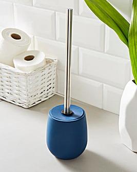 Indigo Toilet Brush & Holder