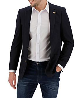 Navy Brierley Pique Blazer