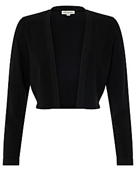Monsoon Camilla Contrast Trim Shrug