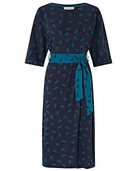 Monsoon Penny Palm Print Wrap Dress