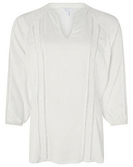Monsoon Elsa Ladder Lace Shirt