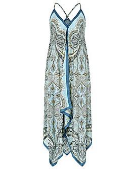 Monsoon Chrissie Hanky Hem Dress