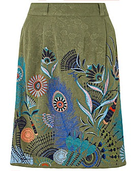 Monsoon Hallie Embroidered Skirt