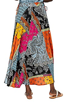 Monsoon Mina Print Maxi Skirt