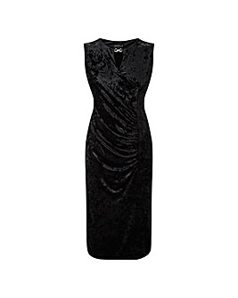 GRACE Midi Dress Keyhole Jewel