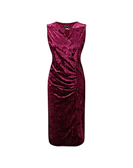 GRACE Midi Dress with Keyhole Jewel