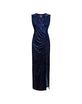 GRACE Maxi Dress with Keyhole Jewel