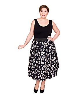 Scarlett & Jo Large Bow Skirt