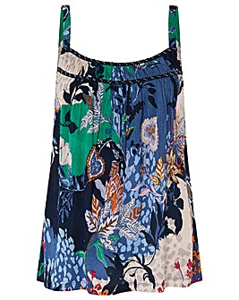 Monsoon Frida Jersey Print Cami