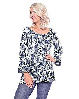 Grace butterfly print tunic